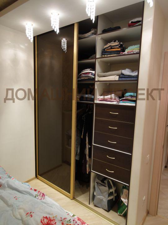 Шкаф-купе двухдверный для спальни