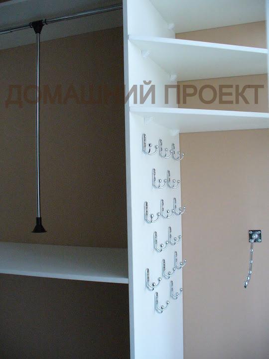 Многофункциональная гардеробная для квартиры