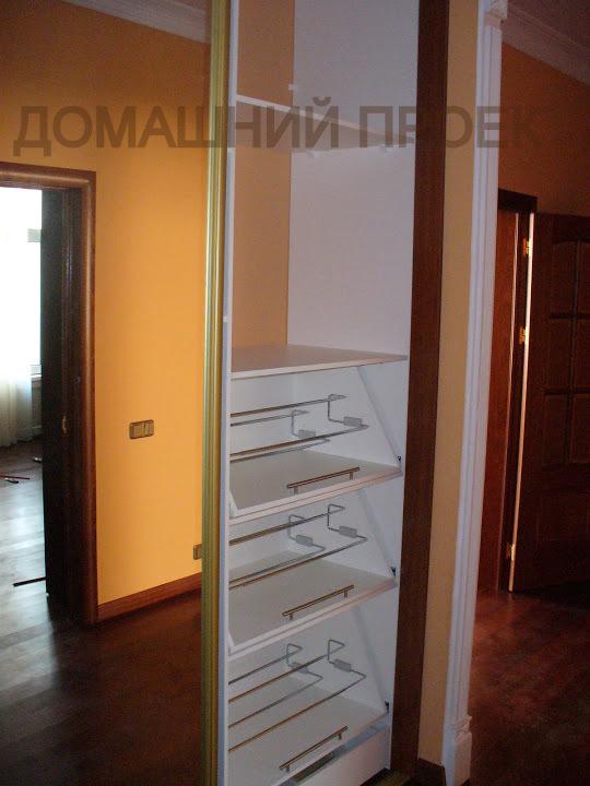 Эргономичная гардеробная для квартиры