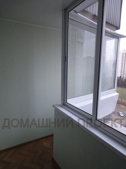 Комплексная ПВХ отделка балкона