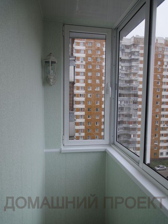 Остекление и отделка балкона под ключ п-3