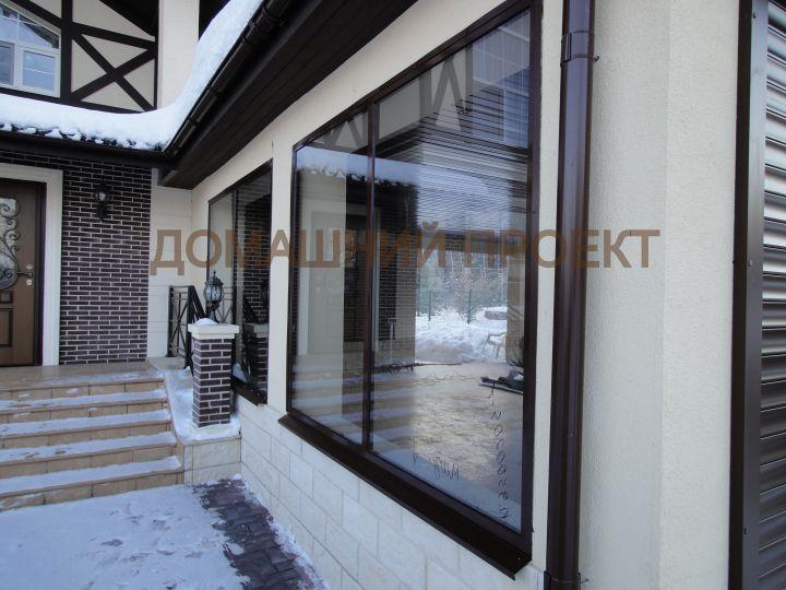 Алюминиевые окна для коттеджа