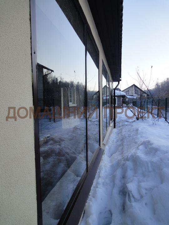 Алюминиевые окна для загородного дома
