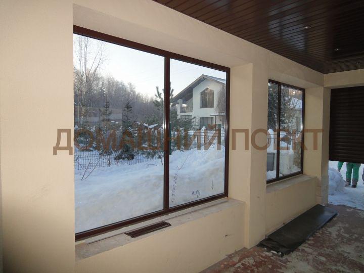 Остекление гаража алюминиевыми окнами