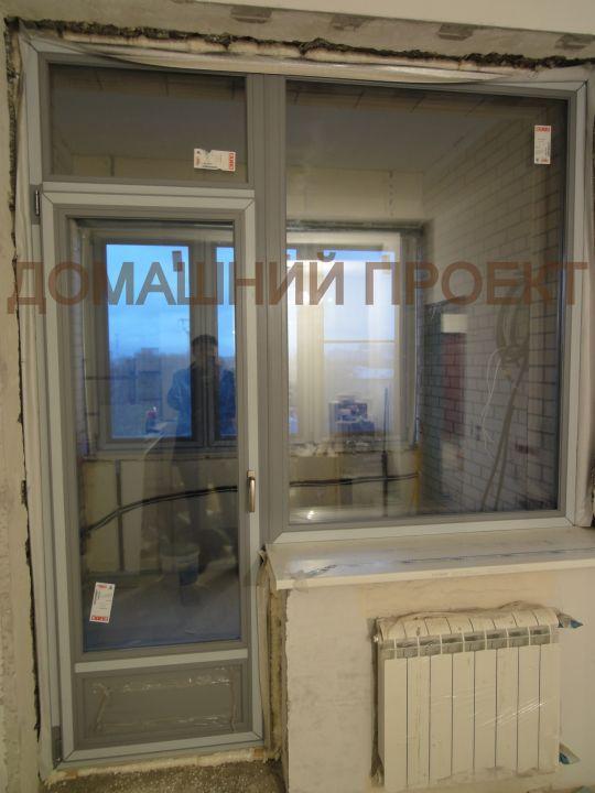 Пластиковые дверь и окно Schuco Corona CT 70