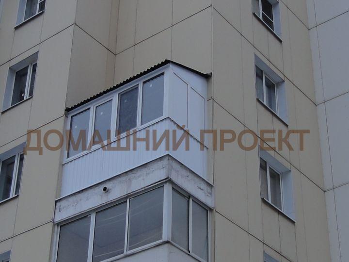 Остекление балкона в  Медведково