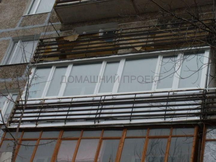 Пластиковое остекление балкона и-209а. балконы и-209а. наши .