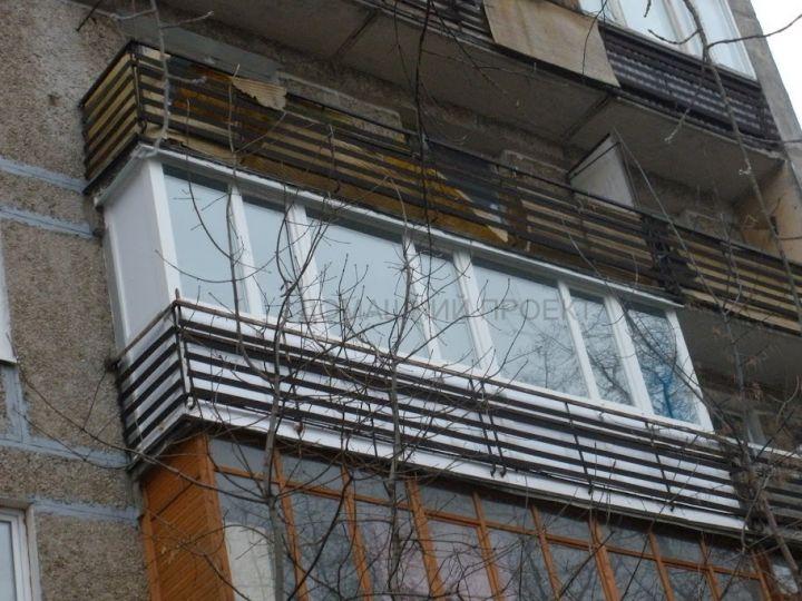 Остекление балкона пластиком и-209а