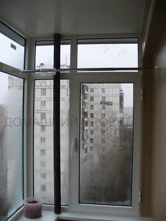 Застекление балкона II-18