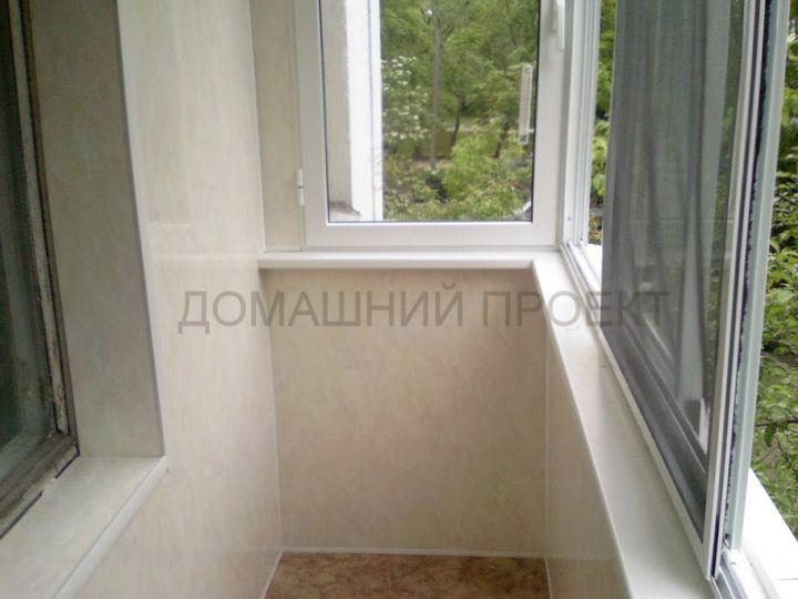 Остекление балкона серии ii 18. балконы ii-18. наши работы. .