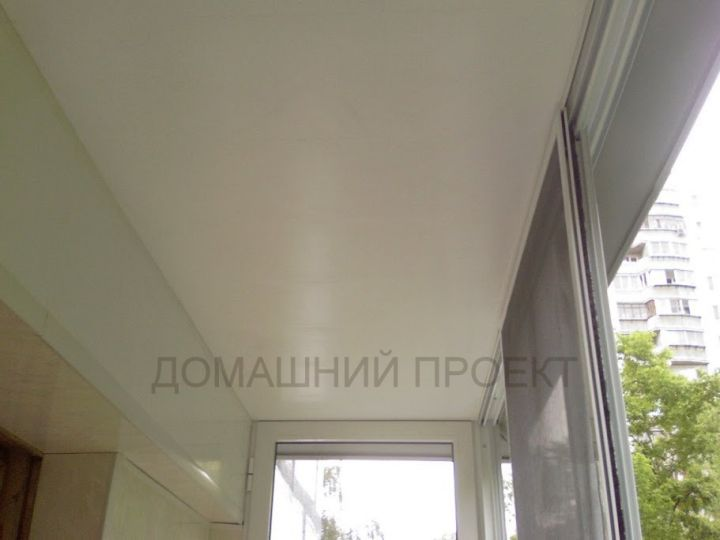 Остекление балкона II-18 под ключ