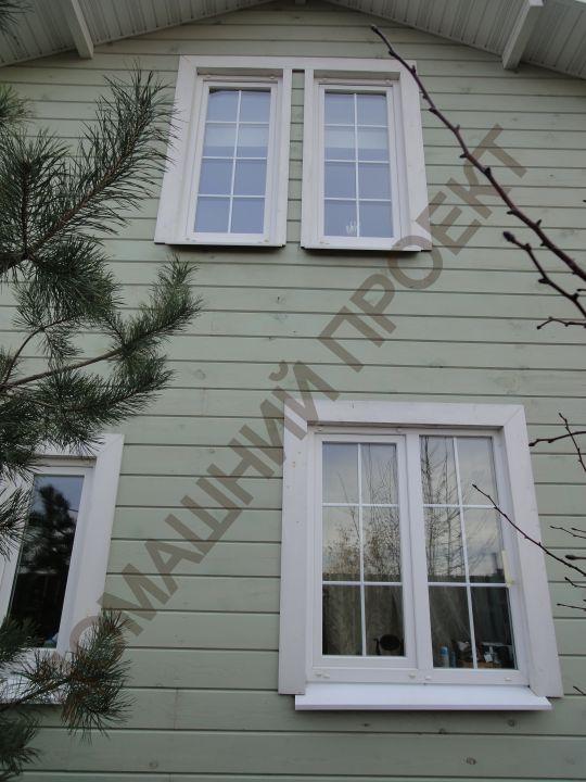 Остекление коттеджа окнами ПВХ