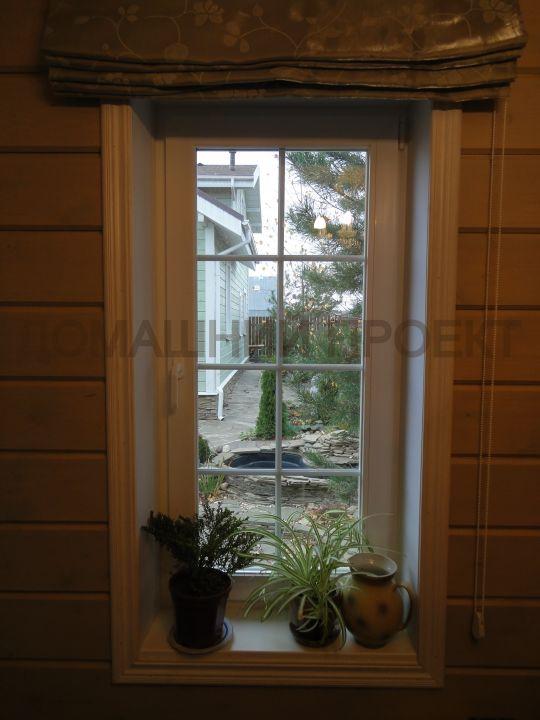 Пластиковое окно Рехау в коттедже