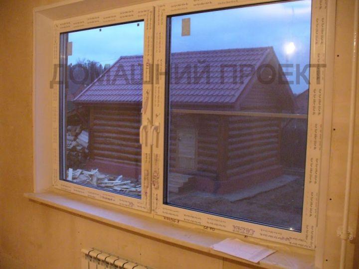 Остекление частного дома окнами Rehau