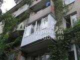 Остекление с выносом всего балкона  на ул. Инициат