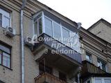 Отделка балкона профлистом №4