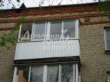 Отделка балкона профлистом №1