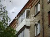 Отделка балкона профлистом №2