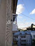 Отделка балкона профлистом №6