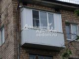 Балкон с внешней отделкой 300616