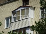 Балкон с внешней отделкой 300616/7