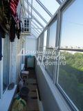 Балкон с прозрачной крышей 30616/3
