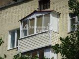 Балкон с треугольной крышей 300616/2