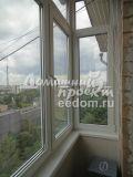 Теплый балкон с крышей - Проспект Мира 2
