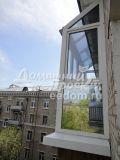 Остекление с прозрачной крышей - ул. Кошкина 4