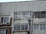 Остекление с выносом и крышей, отделка - Марьино 6