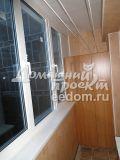 Теплое остекление балкона И-209