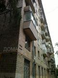 Внешняя отделка балкона в пятиэтажке
