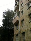 Отделка балкона снаружи в пятиэтажке