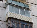 Внешняя отделка балкона II-18