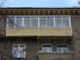 Внешняя обшивка сталинского балкона