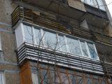 Остекление балкона немецким пластиком