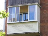 Остекление балкона в пятиэтажке