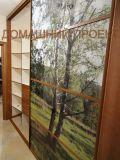 Шкаф-купе с комбинированными дверьми