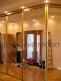 Шкаф-купе с пескоструйным рисунком на зеркалах