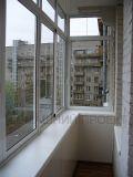 Застекление балкона в сталинском доме