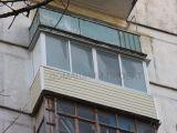 Остекление балкона II-18 алюминием