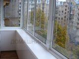 Остекление и отделка балкона в сталинке