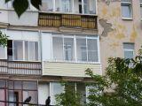 Легкое остекление балкона в сталинском доме
