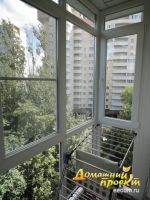 Остекление балконов и лоджий в зеленограде - домашний проект.